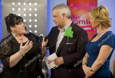 Mary Byrne with Eamonn Holmes and Ruth Langsford