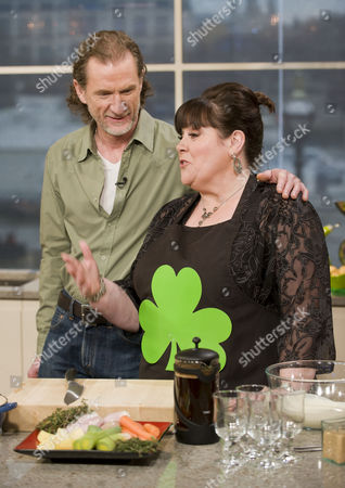 Stock Picture of Paul Rankin and Mary Byrne.