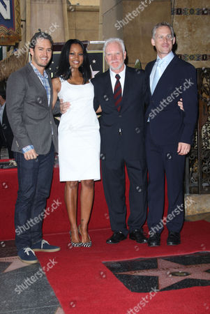 Mark-Paul Gosselaar, Garcelle Beauvais Nilon, Malcolm McDowell and Reed Diamond