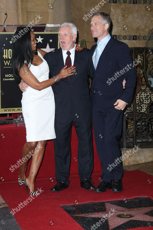 Garcelle Beauvais Nilon, Malcolm McDowell and Reed Diamond