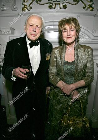 Lucinda Lambton and husband Sir Peregrine Worsthorne