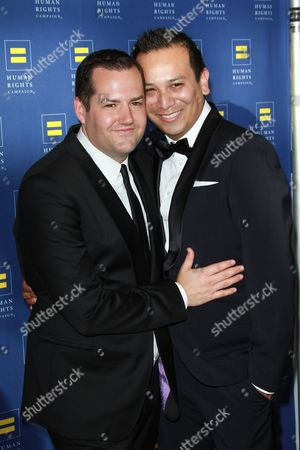 Ross Mathews with Salvador Camarena