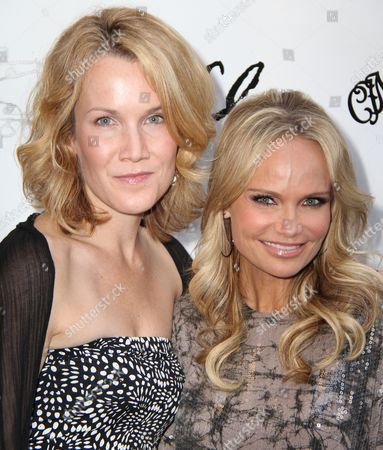 Erin Dilly and Kristin Chenoweth