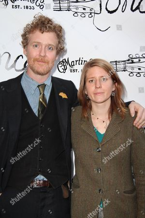 Editorial image of 'Once' play opening night, New York, America - 18 Mar 2012