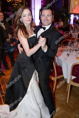Rose McGowan and Cole Herrera