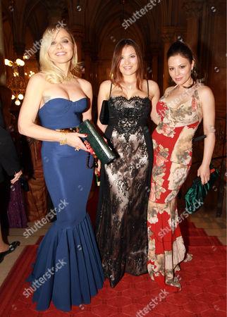 Ornella Muti, Carolina Muti and Naike Rivelli