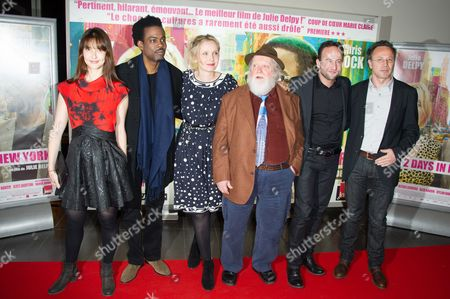 Editorial image of '2 Days in New York' Film Premiere, Paris, France  - 19 Mar 2012