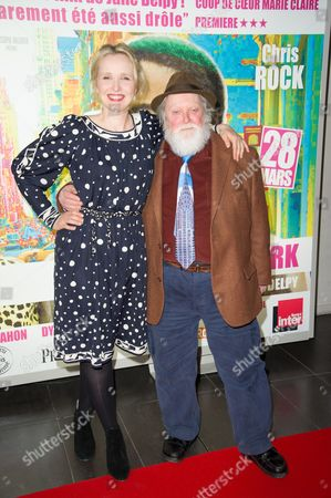 Stock Photo of Julie Delpy and Albert Delpy