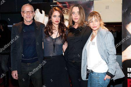 Pascal Greggory, Clara Ponsot, Virgine Despentes and Emmanuelle Beart