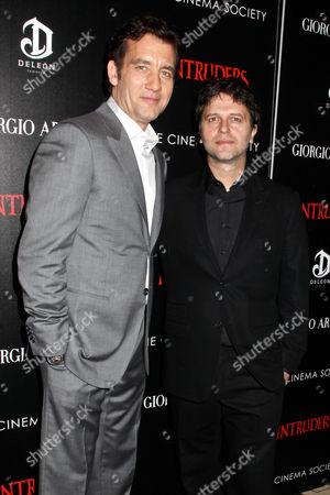 Clive Owen and Juan Carlos Fresnadillo