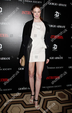 Editorial picture of The Cinema Society Film Screening of 'Intruders', New York, America - 19 Mar 2012