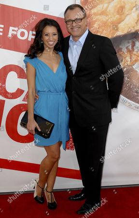 Helenna Santos Levy & husband Barry Levy