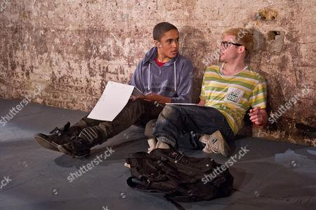 'Shivered' - Josh Williams as Jack and Joseph Drake as Ryan.