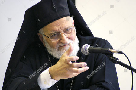 Stock Image of Patriarch Gregory III Laham