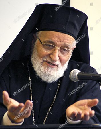 Editorial photo of His Beatitude Patriarch Gregory III, Melkite Catholic Patriarch of Antioch and all the East, London, Britain - 09 Mar 2012