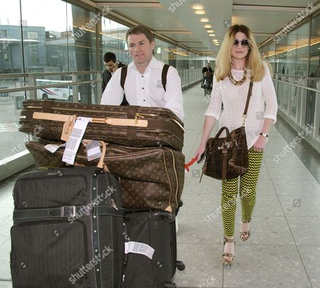 Stock Picture of Charlie Fennell and Nicola Roberts