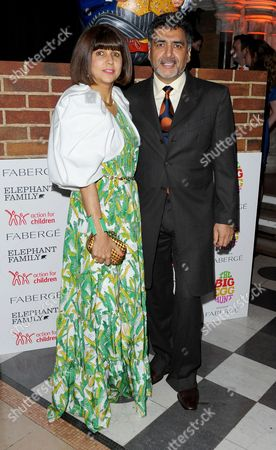 Stock Picture of Aisha Caan and James Caan