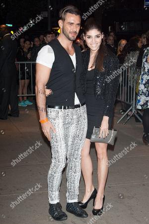 Lorenzo Martone and Amanda Setton