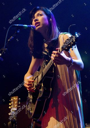 Editorial image of Emmy The Great in concert at the HMV Picture House, Edinburgh, Britain - 20 Mar 2012