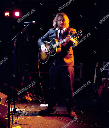 Editorial photo of Israel Nash Gripka in concert in Katalin, Uppsala, Sweden - 01 Mar 2012