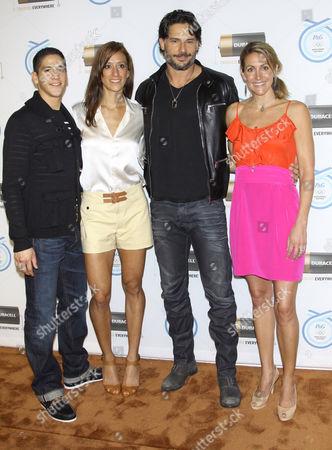 Mark Lopez, Diana Lopez, Joe Manganiello and Summer Sanders