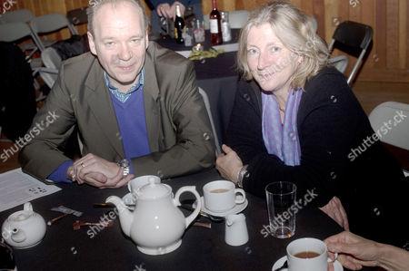 Rosie Boycott and John O' Farrell
