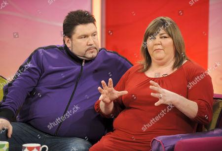 Ricky Grover and Cheryl Fergison