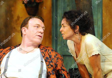 'Filumena' - Clive Wood as Domenico and Samantha Spiro as Filumena