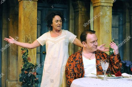 'Filumena' - Samantha Spiro as Filumena and Clive Wood as Domenico