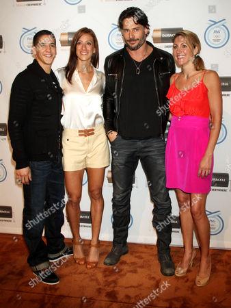 Mark Lopez, Diana Lopez, Joe Mandaniello and Summer Sanders