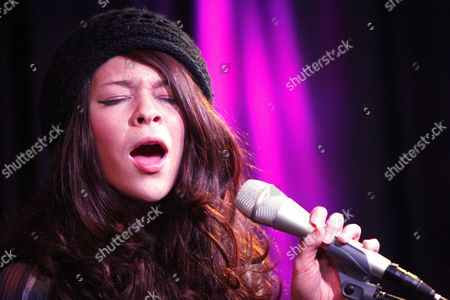 Editorial image of Cady Groves performance at the WIOQ iHeartRadio Performance Theater in Bala Cynwyd, Pennsylvania, America - 19 Mar 2012