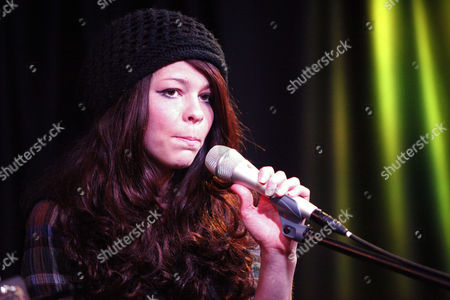 Editorial photo of Cady Groves performance at the WIOQ iHeartRadio Performance Theater in Bala Cynwyd, Pennsylvania, America - 19 Mar 2012