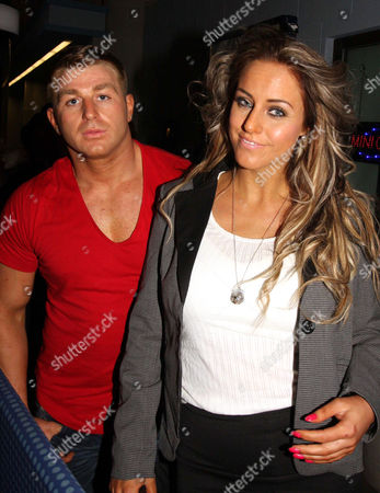 Danielle Mason and her cage fighter traveller fiancé Tony Giles