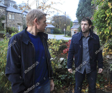 Nick Henshall [Michael McKell] is furious when he finds out that Andy Sugden [Kelvin Fletcher] has told the police about his relationship with Katie.