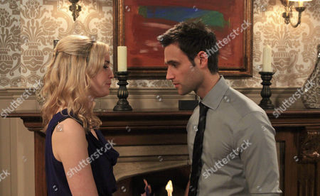Nikhil Sharma [Rik Makarem] and Maisie Wylde's [Alice Coulthard] engagement party. Maisie calls it off.