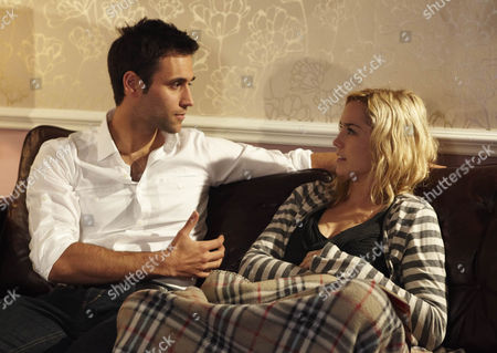 Maisie Wylde [Alice Coulthard] is shocked when Nikhil Sharma [Rik Makarem] proposes