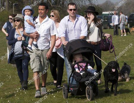 Editorial picture of Gatcombe Horse Trials, Gatcombe, Britain - 24 Mar 2012