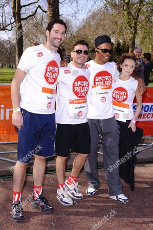 Editorial picture of Sport Relief Mile, London, Britain - 25 Mar 2012