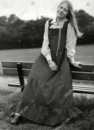 Jayne Wymark Daughter Of Actor Patrick Wymark 1973.