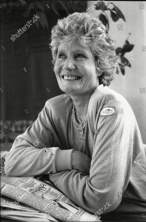 Olwen Wymark Widow Of Actor Patrick Wymark 1988.