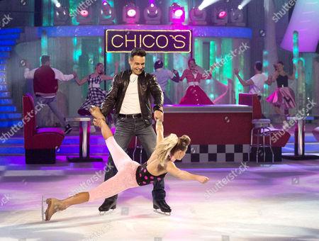 Jodeyne Higgins and Chico Slimani