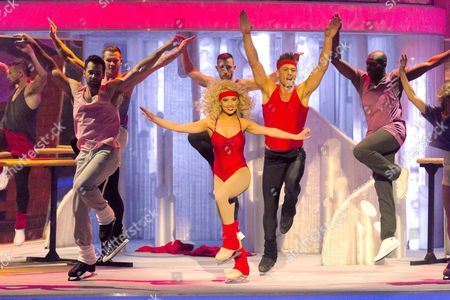 Editorial picture of 'Dancing on Ice' Final, TV Programme, Elstree, Britain - 25 Mar 2012