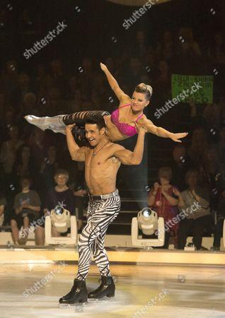 Chico Slimani and Jodeyne Higgins
