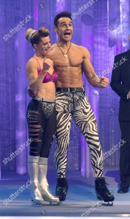 Editorial image of 'Dancing on Ice' Final, TV Programme, Elstree, Britain - 25 Mar 2012