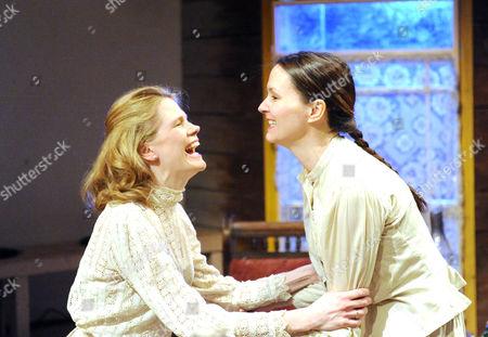 'Uncle Vanya' - Lucinda Millward as Yelena and Charlotte Emmerson as Sonya