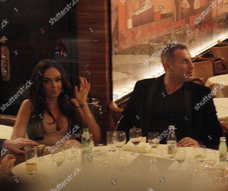Tamara Ecclestone and Omar Khyami at Cipriani