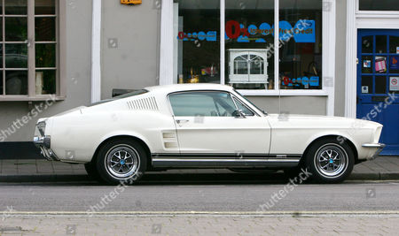Stock Picture of Howard Donald's Classic Ford Mustang Gt