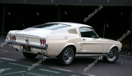 Stock Photo of Howard Donald's Classic Ford Mustang Gt