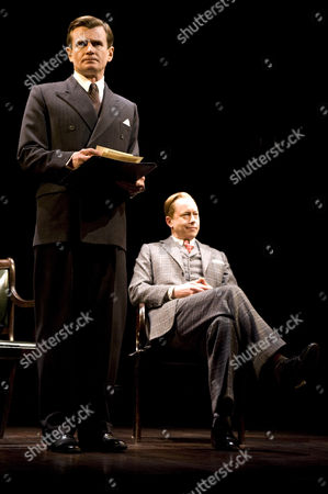 Charles Edwards as King George VI and Daniel Betts as King Edward VIII