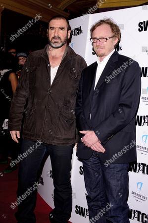 Eric Cantona and Frederic Schoendoerffer